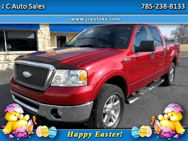 2008 Ford F-150 Lariat SuperCrew Short Box 4WD