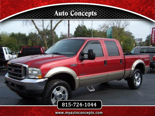 2002 Ford F-250 SD Lariat Crew Cab Short Bed 4WD