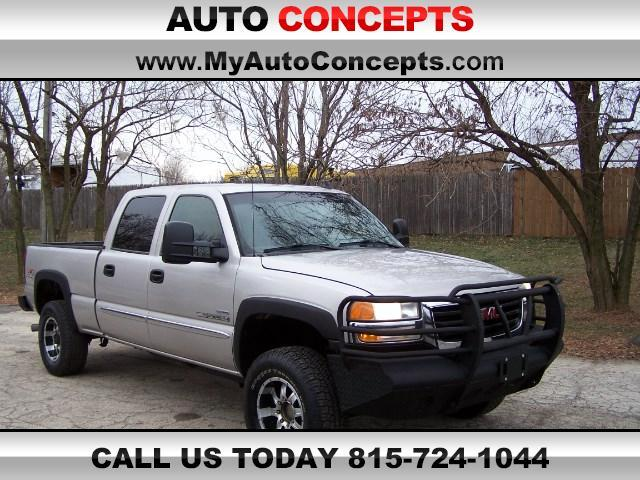 2006 GMC Sierra 2500HD SLE Crew Cab Short Bed 4WD