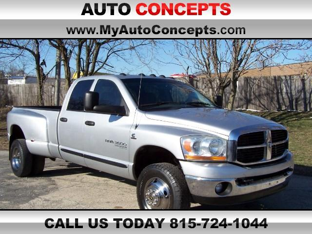 2006 Dodge Ram 3500 SLT Quad Cab Long Bed 4WD DRW