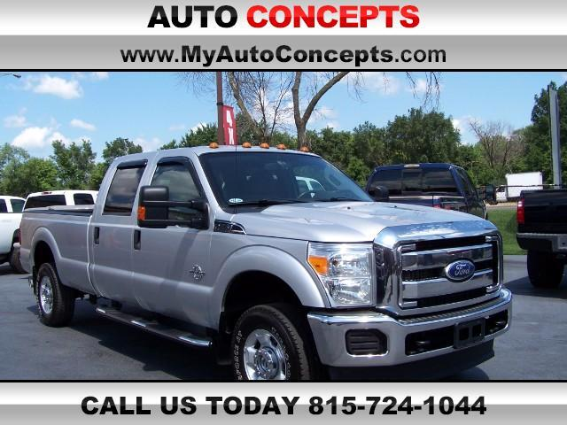 2011 Ford F-350 SD XLT Crew Cab Long Bed 4WD