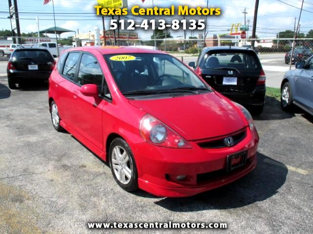2007 Honda Fit Sport 5-Speed MT