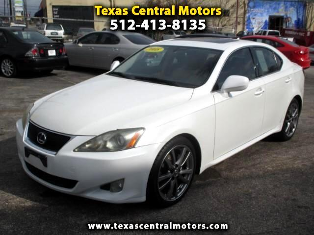 2008 Lexus IS 250 IS 250 6-Speed Manual