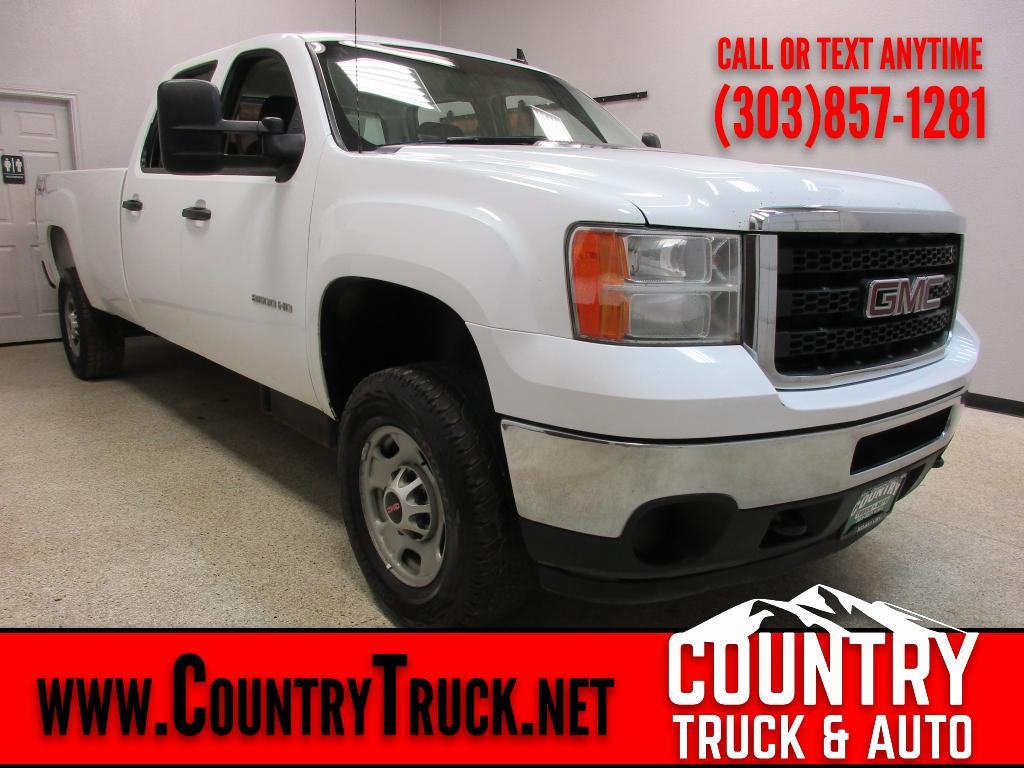 2013 GMC Sierra 2500HD Crew Cab Long Bed 4WD