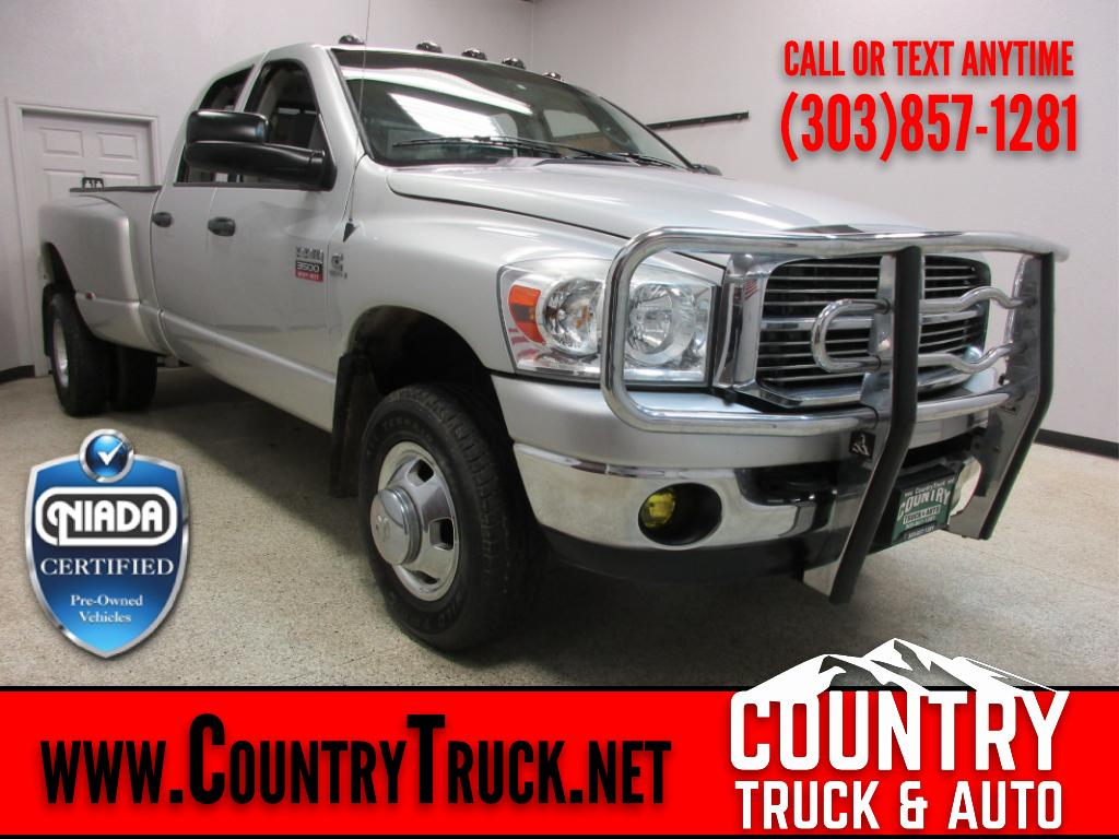 2008 Dodge Ram 3500 SLT Quad Cab Long Bed 4WD DRW
