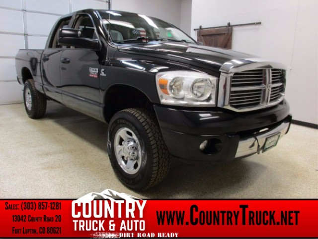2008 Dodge Ram 2500 Laramie Quad Cab Short Bed 4WD