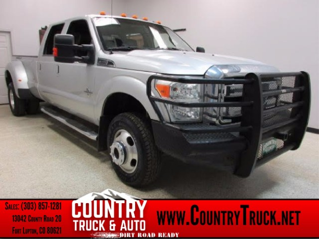 2011 Ford F-350 SD Lariat Crew Cab Long Bed Dually 4WD
