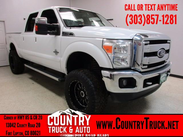 2012 Ford F-350 SD Lariat Crew Cab Short Bed 4WD