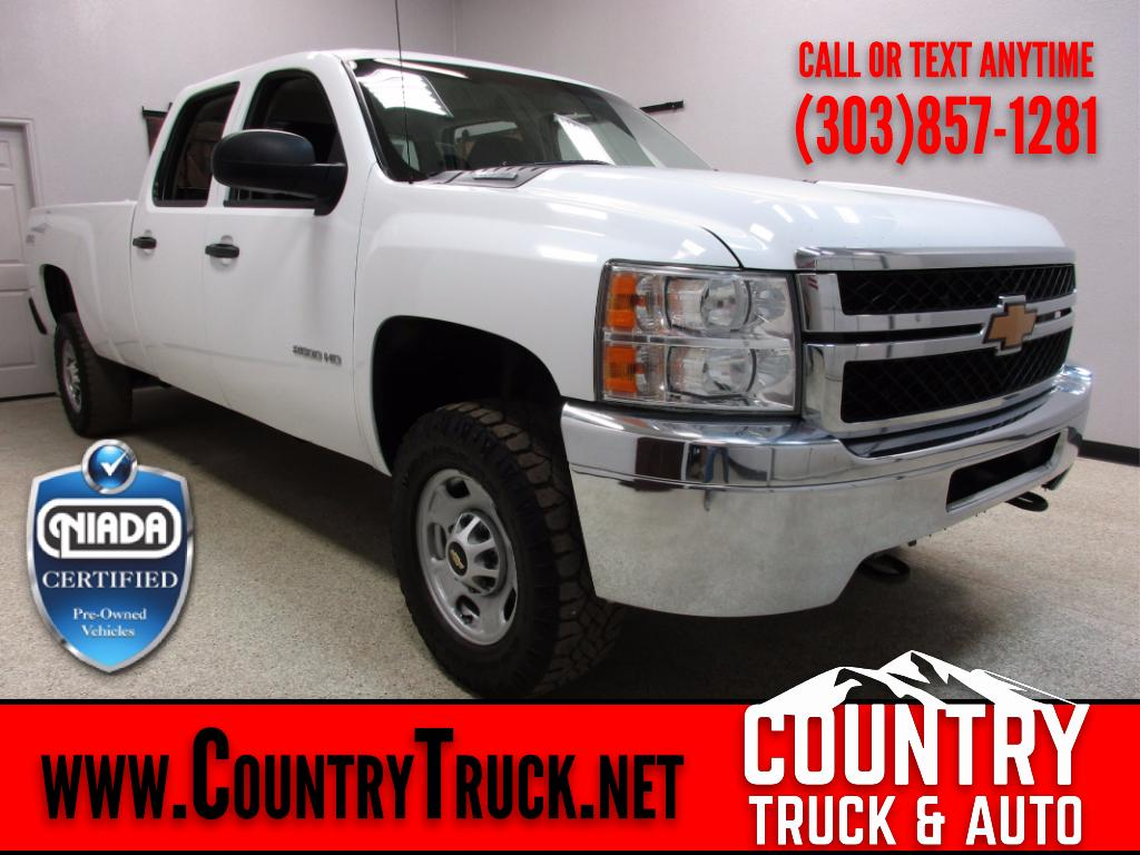 2013 Chevrolet Silverado 2500HD Crew Cab Long Bed 4WD