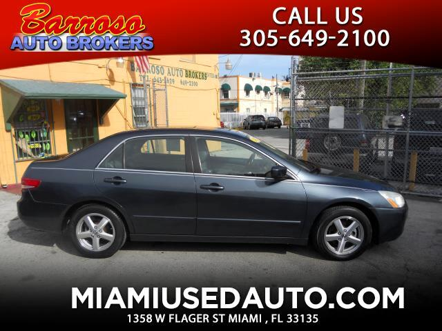 2003 Honda Accord EX-L Sedan AT