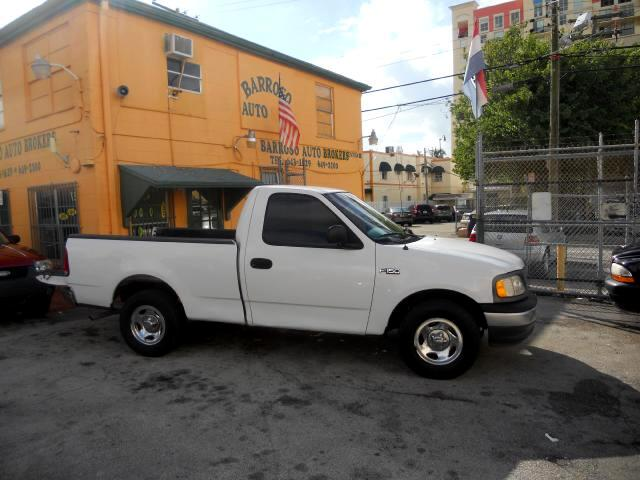 used 2000 ford f 150 xlt reg cab long bed 2wd for sale in miami fl 33135 barroso auto brokers. Black Bedroom Furniture Sets. Home Design Ideas