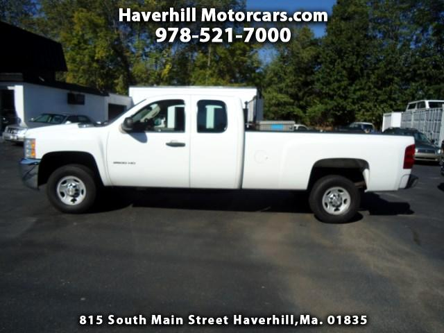 2010 Chevrolet Silverado 2500HD Work Truck Ext. Cab Long Bed 2WD