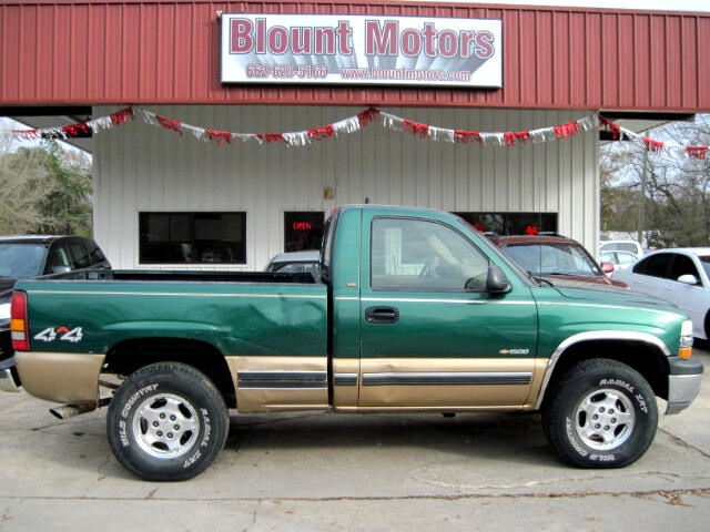 2000 Chevrolet Silverado 1500 Reg. Cab Short Bed 4WD