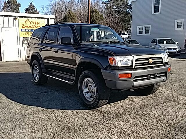 used 1997 toyota 4runner sr5 4wd for sale in thomasville nc 27360 curry bros auto sales. Black Bedroom Furniture Sets. Home Design Ideas