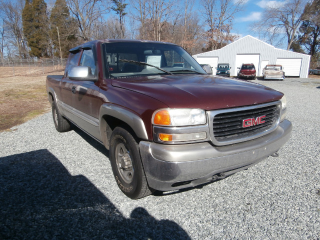 used 2000 gmc sierra 1500 sle ext cab 4 door long bed 4wd for sale in thomasville nc 27360. Black Bedroom Furniture Sets. Home Design Ideas