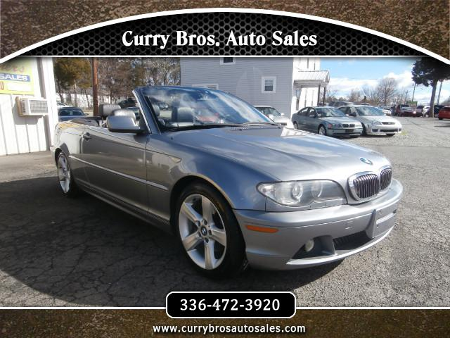 used 2004 bmw 3 series 325ci convertible for sale in. Black Bedroom Furniture Sets. Home Design Ideas