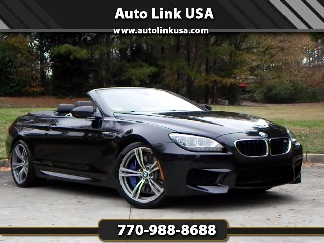 2014 BMW M6 Convertible Exec. Pack.