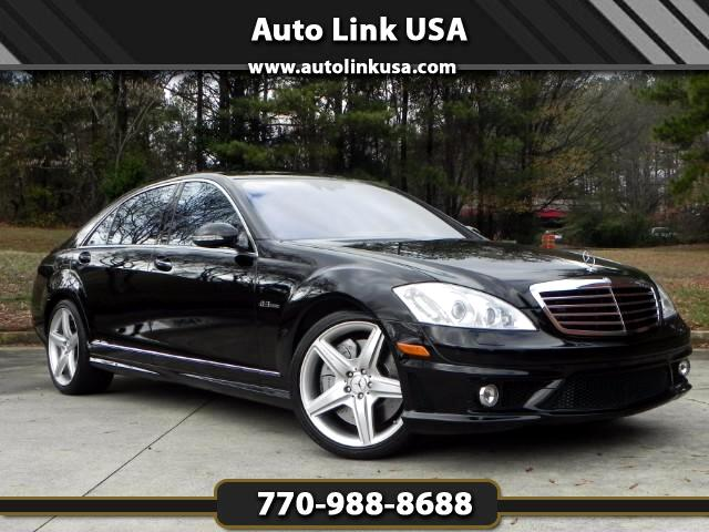 used 2009 mercedes benz s class s63 amg for sale in marietta ga 30067 auto link usa. Black Bedroom Furniture Sets. Home Design Ideas