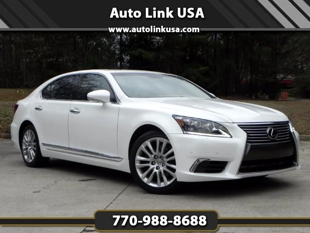 used 2014 lexus ls 460 l long body sedan for sale in marietta ga 30067 auto link usa. Black Bedroom Furniture Sets. Home Design Ideas