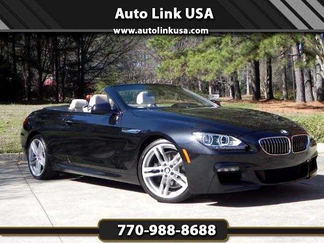 used 2014 bmw 6 series 640i convertible m sport for sale in marietta. Cars Review. Best American Auto & Cars Review