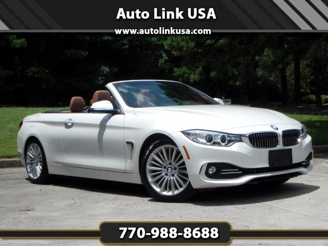 2014 BMW 4-Series 428i Convertible Luxury Pack.