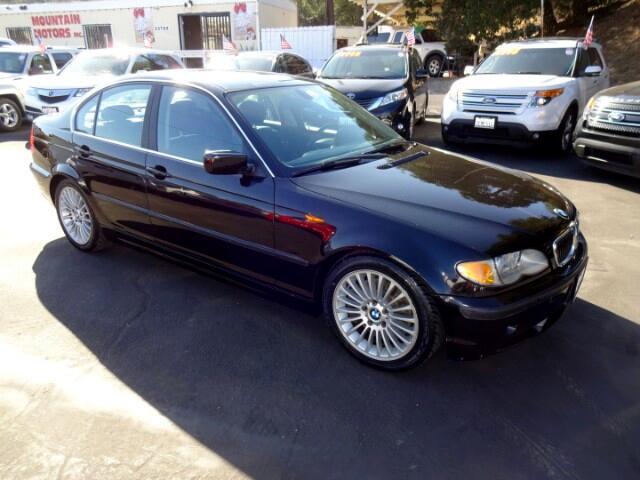 2002 BMW 3-Series 330i Sedan