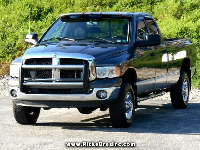2004 Dodge Ram 2500 SLT Quad Cab Long Bed 4WD