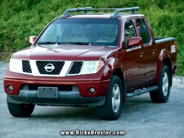 2007 Nissan Frontier LE Crew Cab 4WD