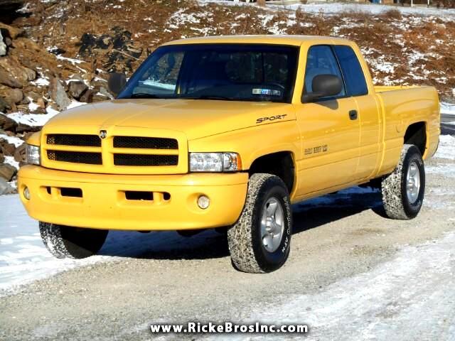 2001 Dodge Ram 1500 Quad Cab Short Bed 4WD
