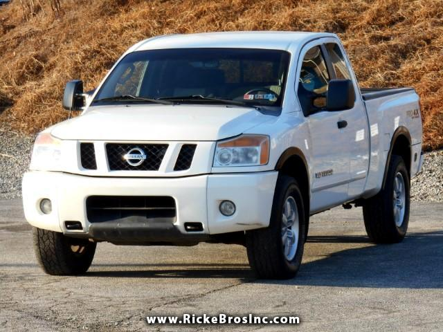 2008 Nissan Titan PRO-4X King Cab 4WD SWB