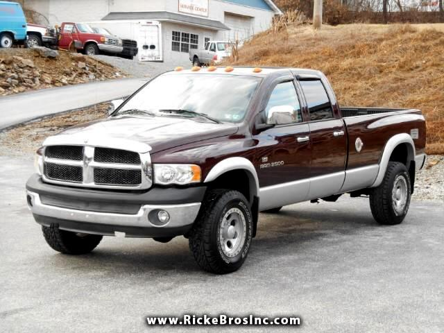 2004 Dodge Ram 2500 ST Quad Cab Long Bed 4WD