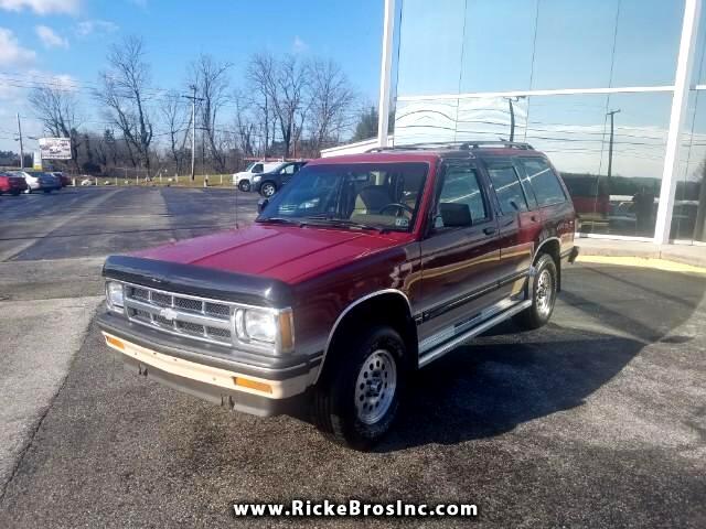 1993 Chevrolet S10 Blazer 4-Door 4WD