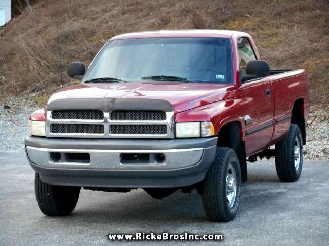 1998 Dodge Ram 2500 Reg. Cab 8-ft. Bed 4WD