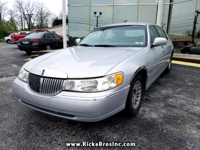 2000 Lincoln Town Car Cartier