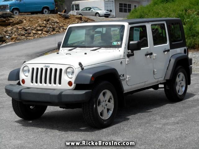2009 Jeep Wrangler Unlimited X 4WD RHD