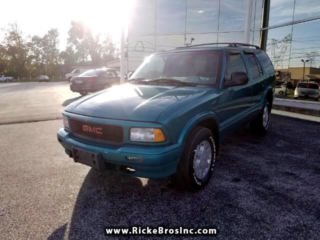 1996 GMC Jimmy SL 4-Door 4WD