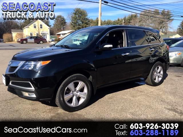 2013 Acura MDX SH-AWD 6-Spd AT w/Tech Package