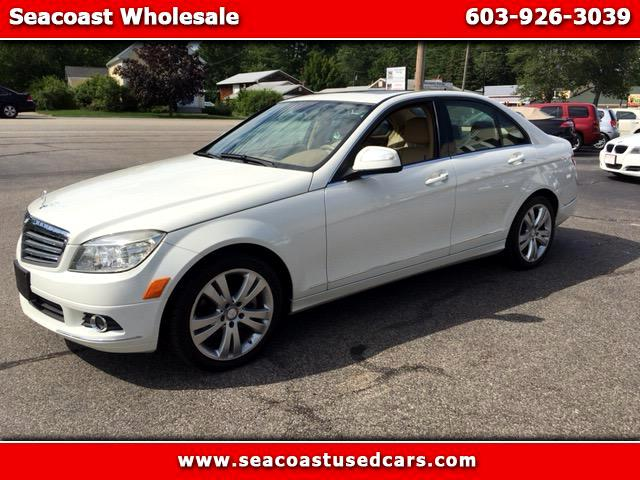 2008 Mercedes-Benz C-Class C300 4MATIC Sport Sedan