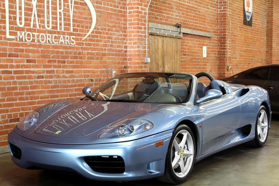 2001 Ferrari 360 Modena Spider Manual