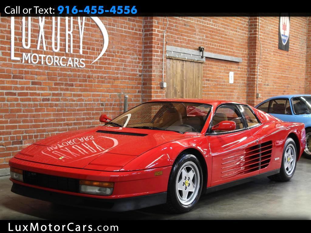 1988 Ferrari Testarossa Base