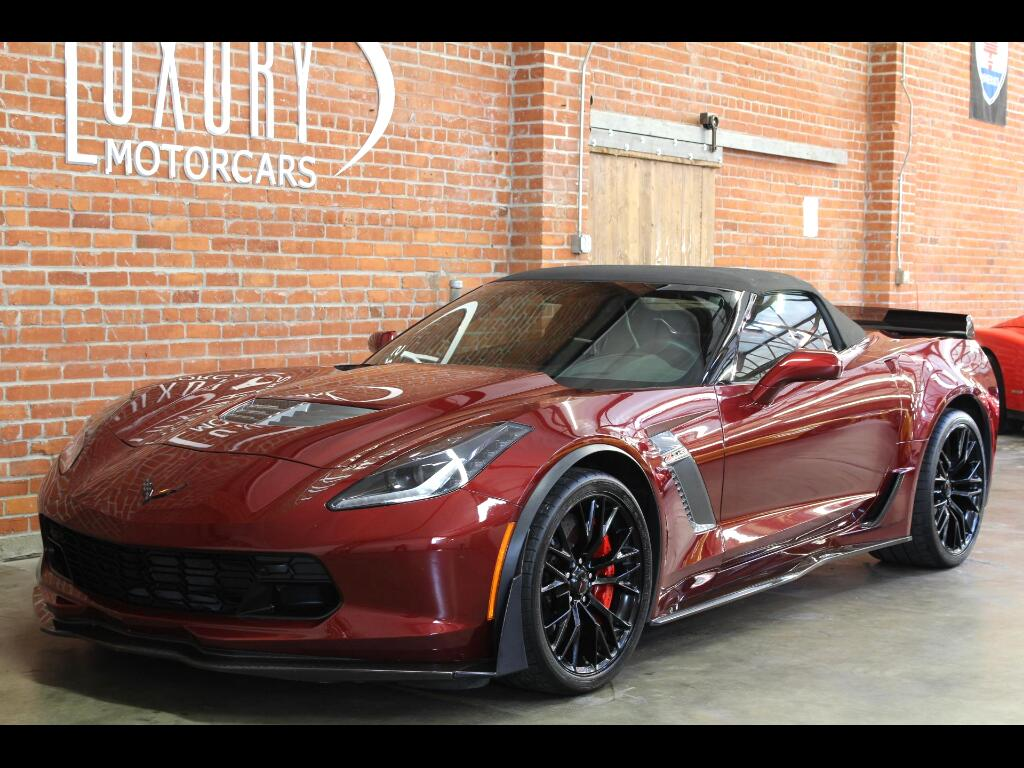 2016 Chevrolet Corvette 3LZ Z06 Convertible