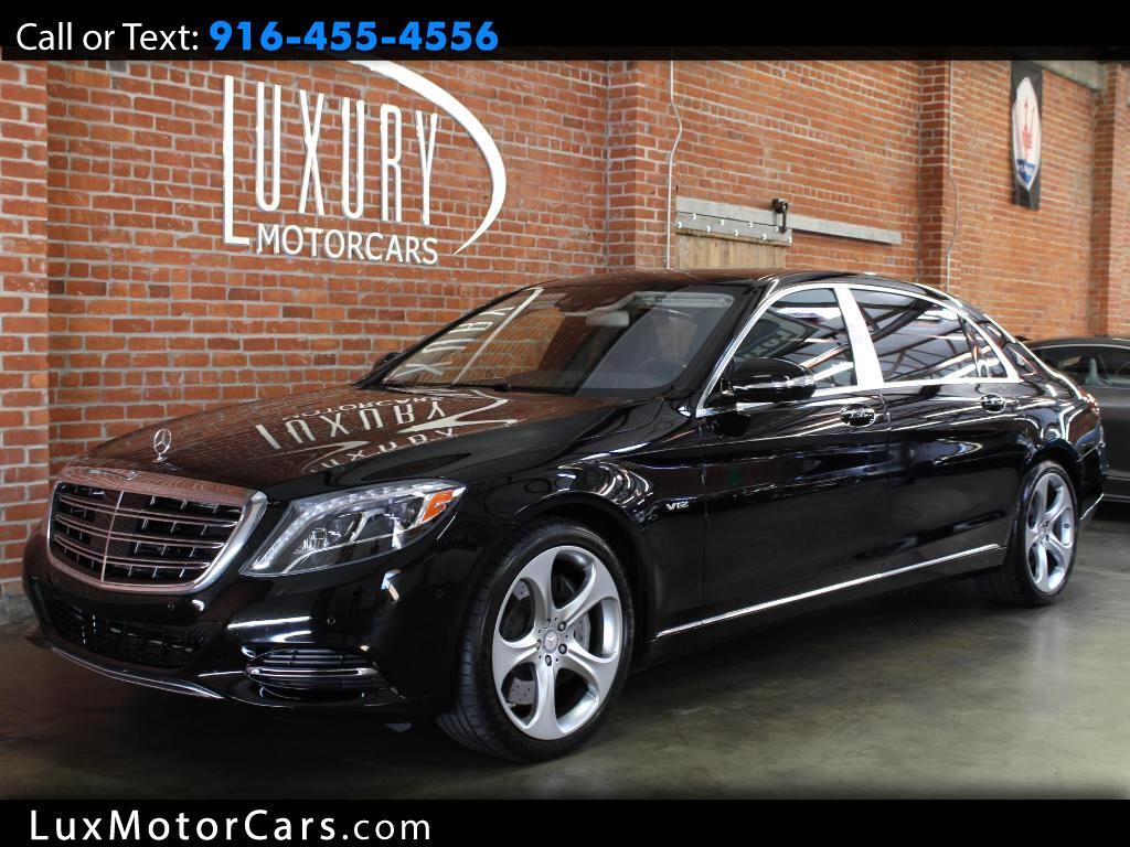 2016 Mercedes-Benz Maybach S600 Sedan