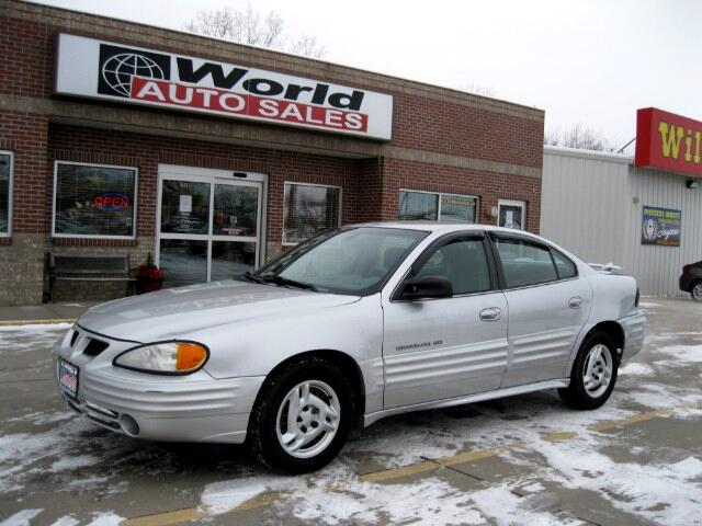 2001 Pontiac Grand Am SE1 sedan
