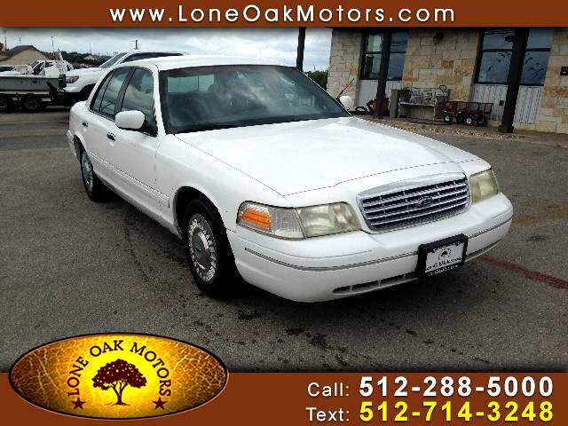 2000 Ford Crown Victoria Base