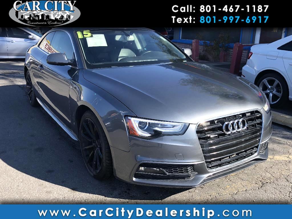 Used 2015 Audi A5 For Sale In Salt Lake City Ut 84115 Car City