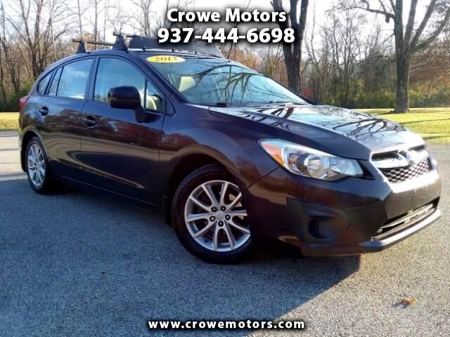 2012 Subaru Impreza Premium 5-Door w/All Weather Package
