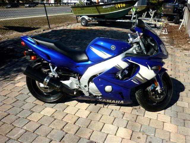 2006 Yamaha YZF-600R Lowered suspension only 1800 miles great sport tou