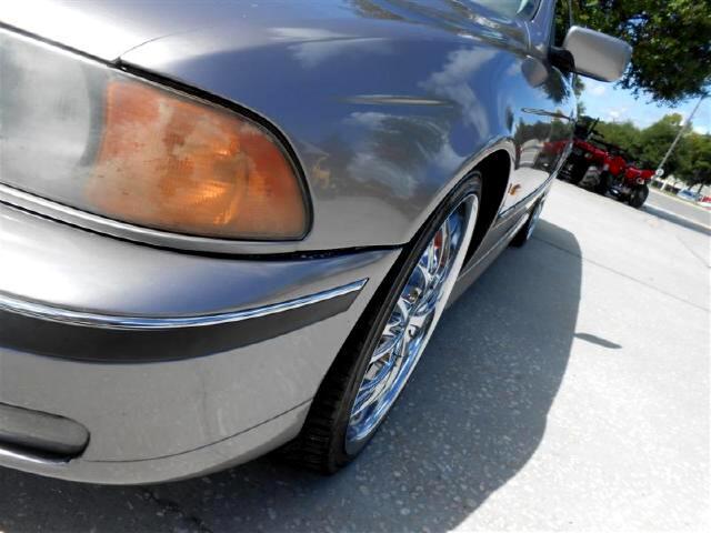 1997 BMW 5-Series 528i 20 inch chrome wheels smooth ride