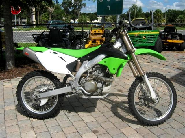2006 Kawasaki KX450-D 4 stroke dirt bike MINT CONDITION ready to ride