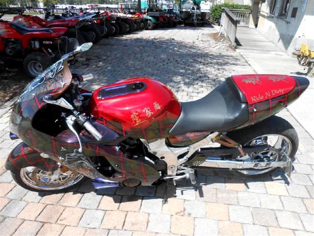 2000 Kawasaki ZX1200-A Custom Paint Tons of upgrdes THE ICE MAN